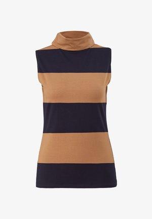 Top - brown stripes