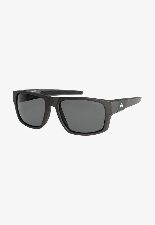 Sunglasses - matt metalic blk/flash silverp