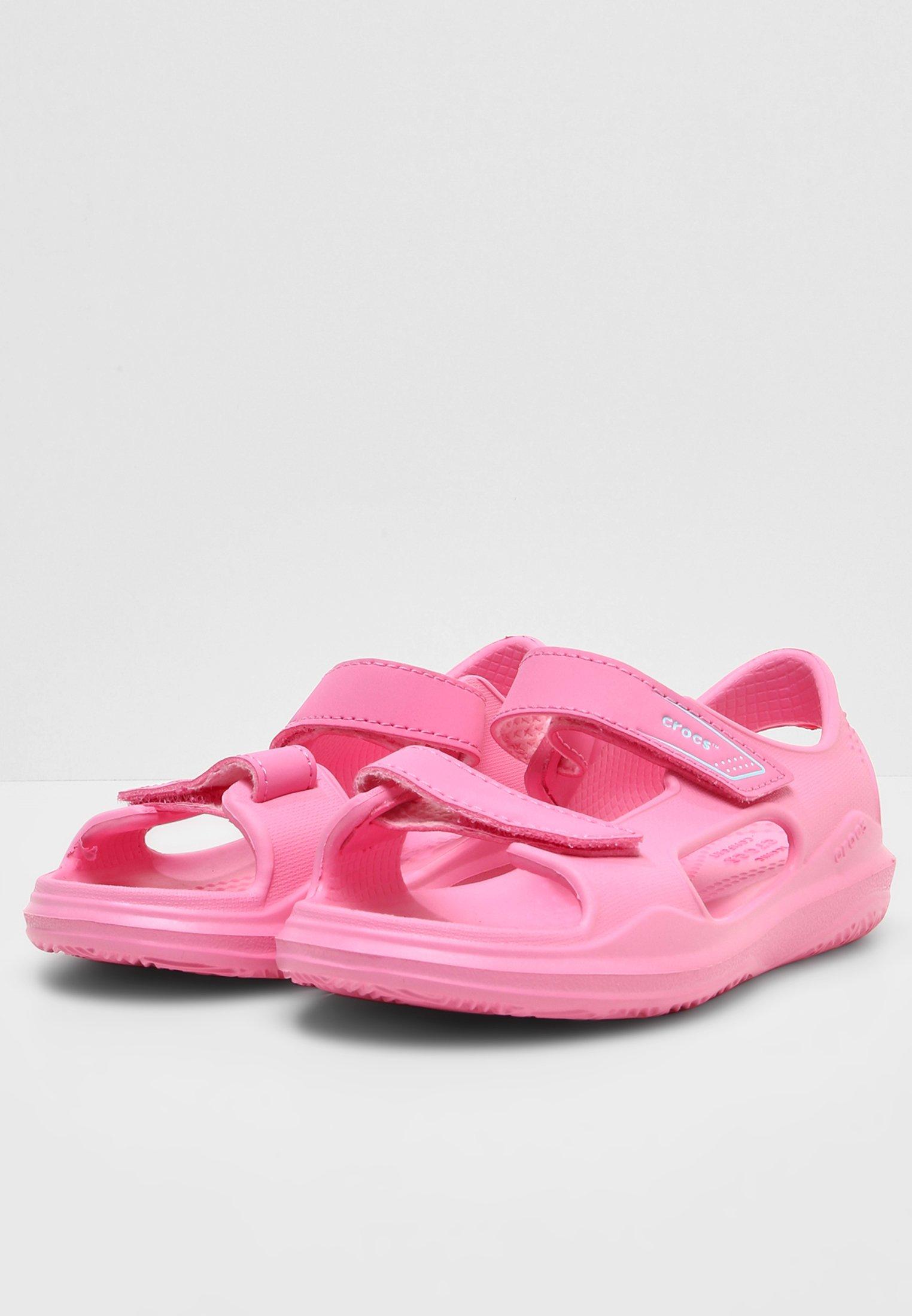 Aankoop Leuk Crocs SWIFTWATER - Badslippers - pink lemonade -  192Ac