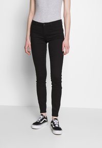 Noisy May - NMEVE JEANS - Jeans Skinny Fit - black - 0