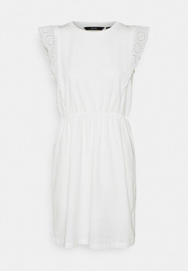 VMHOLLYN DRESS - Žerzejové šaty - snow white