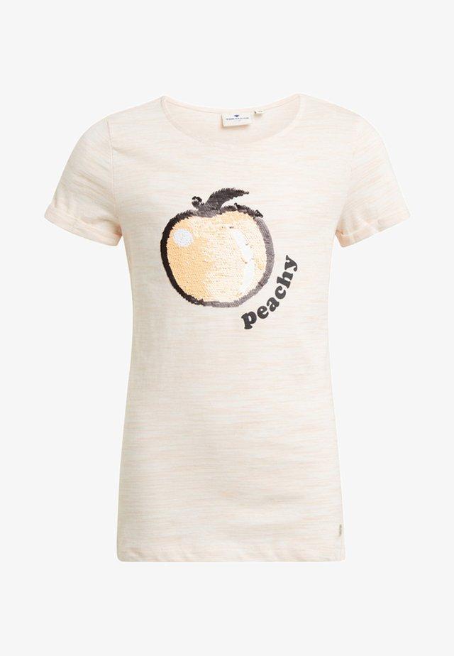 MIT PRINT - T-shirt print - rose