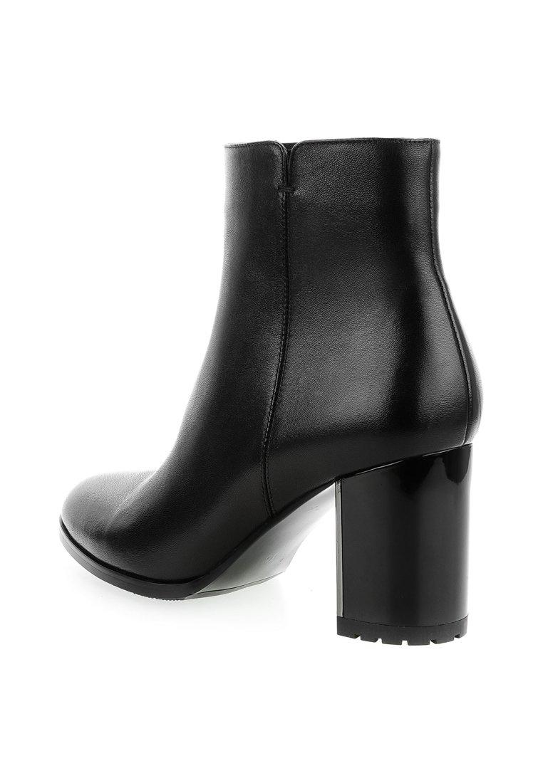 PRIMA MODA TALAMELLO - Enkellaarsjes met hoge hak - black - Damesschoenen Hot Koop