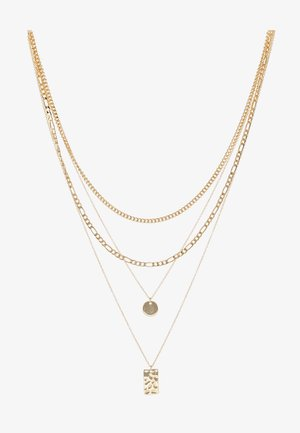 PCOKIA COMBI NECKLACE - Necklace - gold-coloured