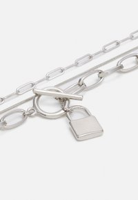 LIARS & LOVERS - PADLOCK MUTLIROW - Necklace - silver-coloured - 2