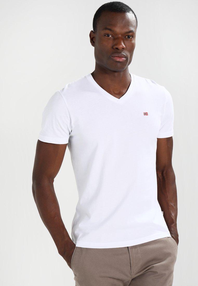 Napapijri - SENOS V - Jednoduché triko - bright white