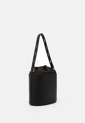 BORSA NATURALE - Handbag - black