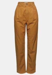 Esprit - Trousers - camel - 9