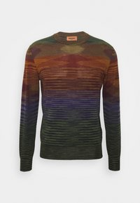 Missoni - LONG SLEEVE CREW NECK - Strikkegenser - multi-coloured - 0