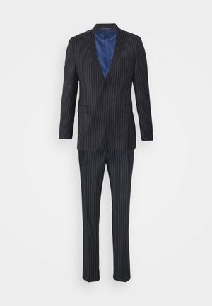STRIPE SLIMSUIT - Garnitur - navy
