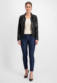 Milestone - Leather jacket - schwarz - 1