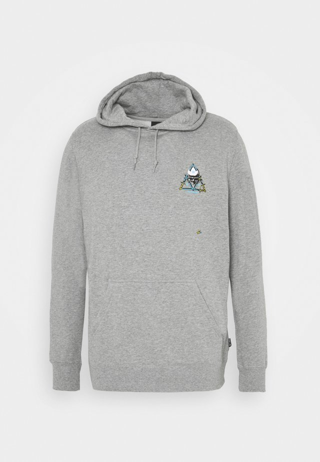 HOODIE - Huppari - grey heather