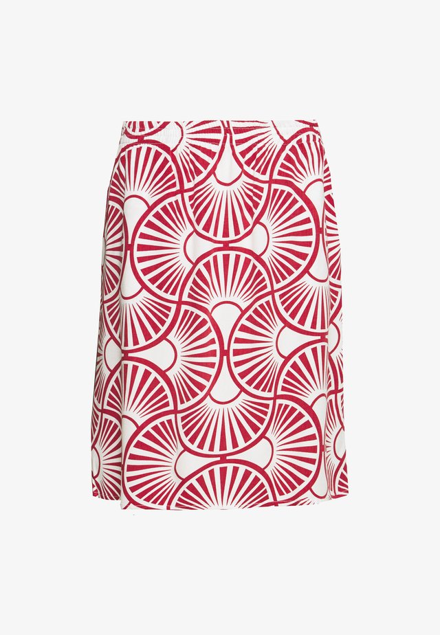 EASY SKIRT CIRCLE - Jupe trapèze - peonies