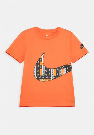 LO-FI LABEL WRAP TEE - Camiseta estampada - camellia