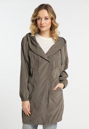 CUPRO - Short coat - dark grey