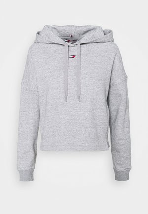 REGULAR HOODIE - Sweatshirt - grey