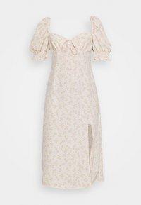 Glamorous - CARE MIDI DRESSES WITH PUFF - Korte jurk - stone ditsy - 4