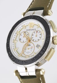 Versace Watches - GRECA - Chronograph watch - green/silver-coloured - 6