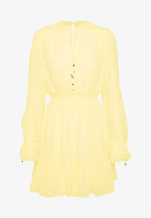 MACIE DRESS - Juhlamekko - pastel yellow