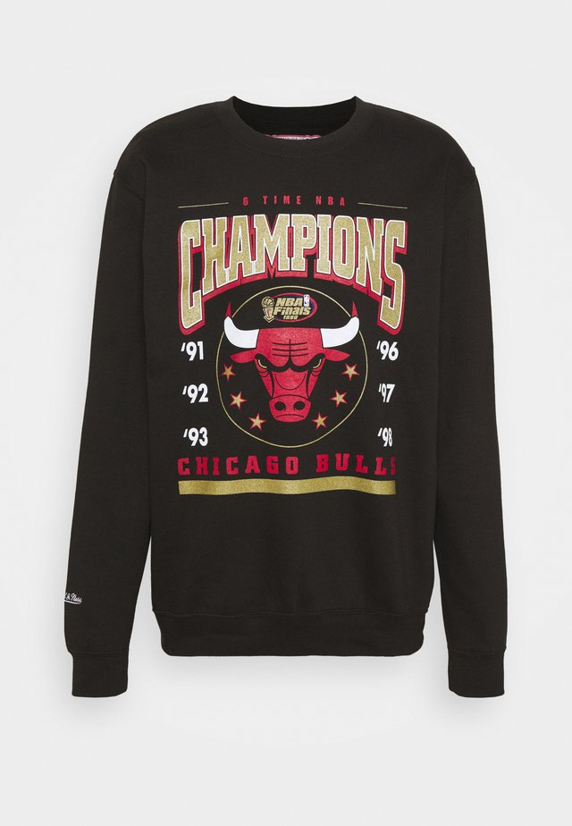 NBA CHICAGO BULLS 6 TIME CREW - Squadra - black