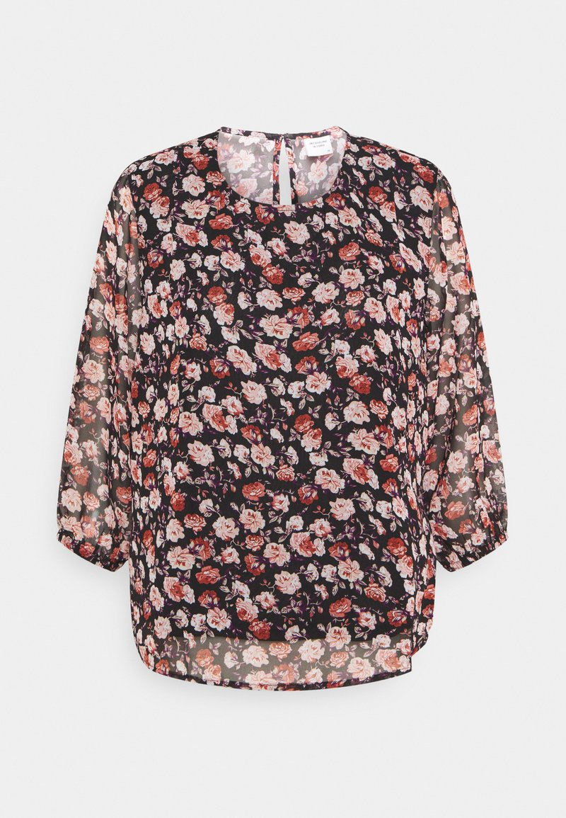 JDY - JDYKYLIE  - Blouse - black/pastel rose
