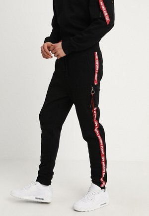 JOGGER TAPE - Jogginghose - black