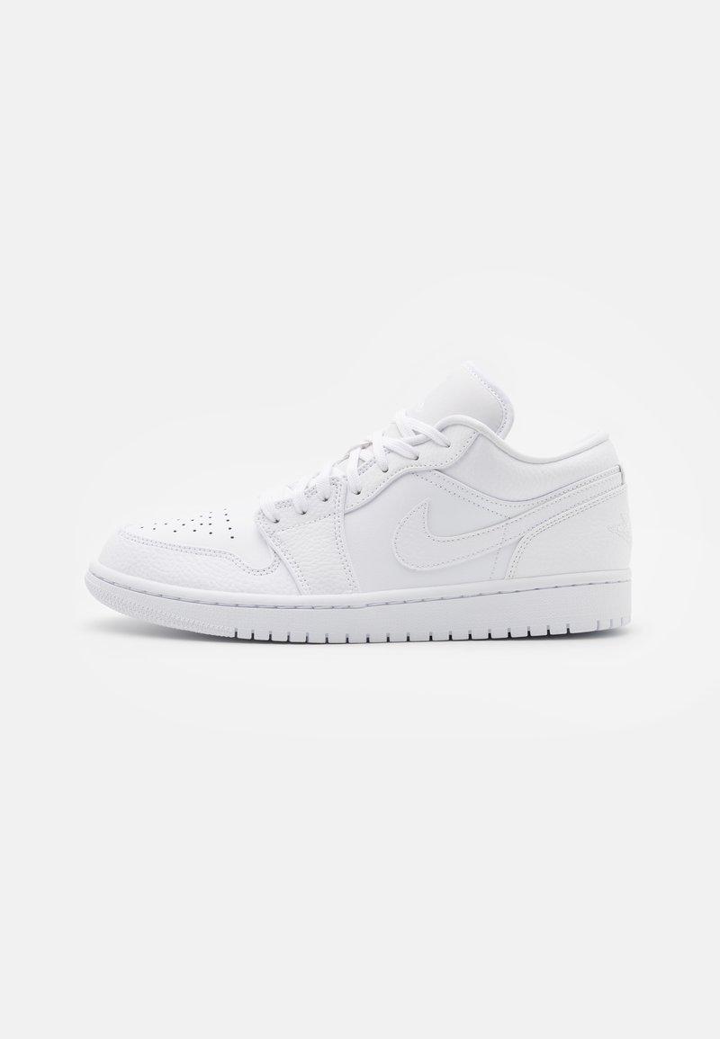 Jordan - AIR 1 - Tenisky - white/hyper crimson/light bone/vintage lichen