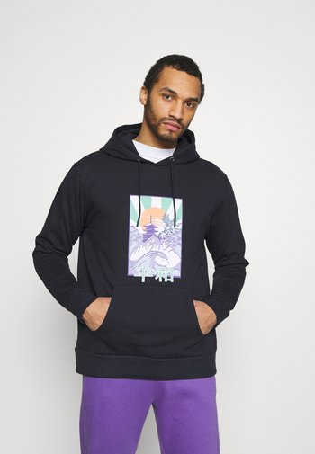 FRONT GRAPHIC PRINTED HOODY UNISEX