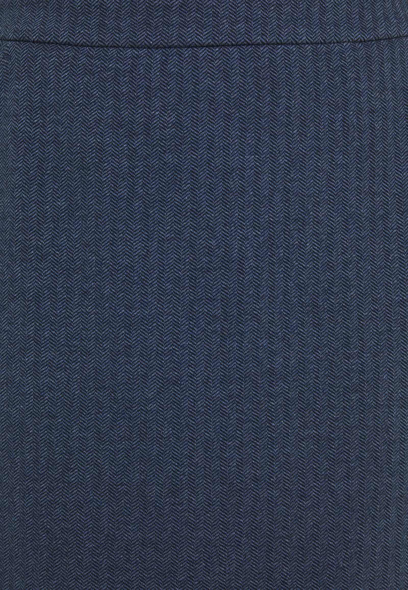 GANT HERRINGBONE SKIRT - Minirock - persian blue/blau 6x80Bg