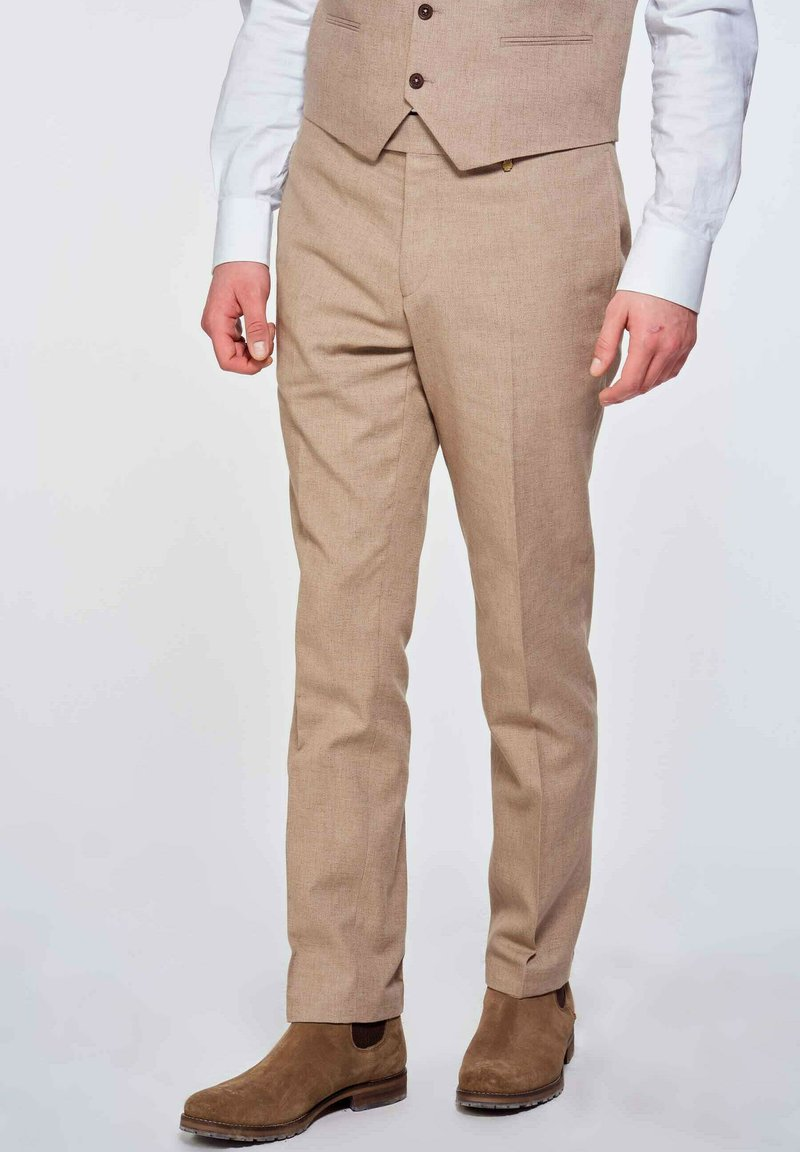 MDB IMPECCABLE - Suit trousers - brown