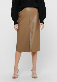 ONLY - Pencil skirt - warm sand - 3