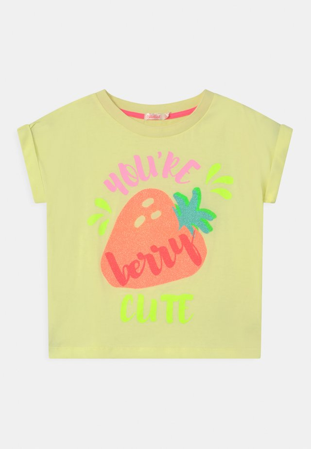 T-shirt imprimé - lime