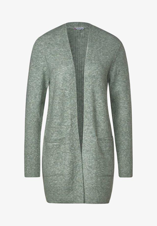KUSCHELIGE  - Vest - grün