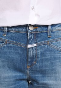 CLOSED - CROPPED - Straight leg jeans - mid blue - 6