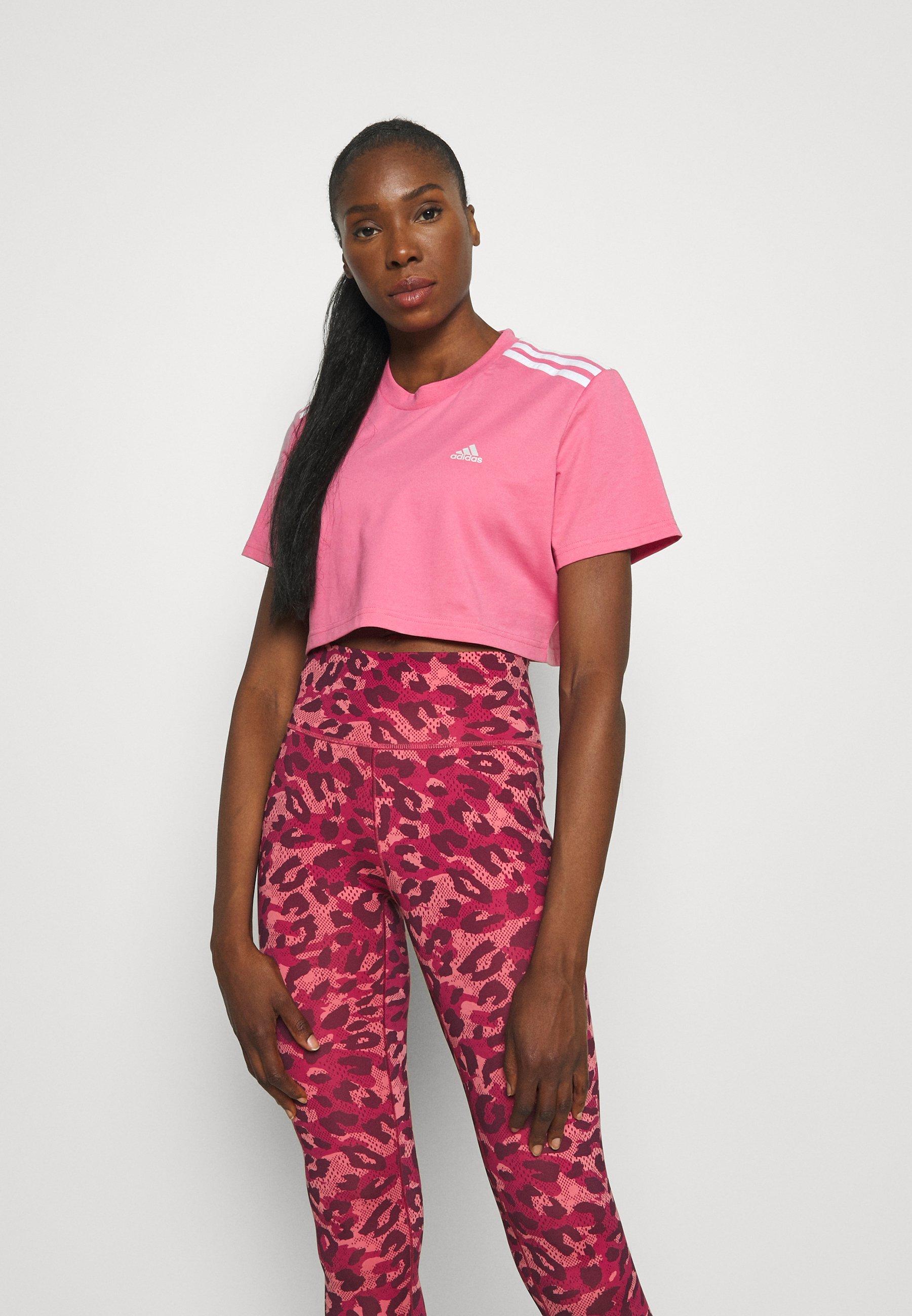 Damen CROPPED TEE - T-Shirt print