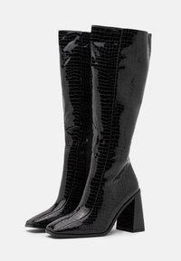 Koi Footwear - VEGAN - High heeled boots - black - 2