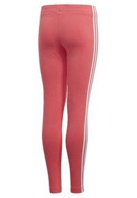 adidas Performance - ESSENTIALS 3-STRIPES LEGGINGS - Leggings - pink - 3