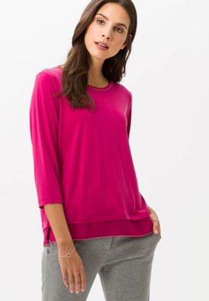 STYLE CLARA - Long sleeved top - raspberry