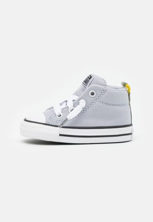 CHUCK TAYLOR ALL STAR STREET UNISEX - Sneakers hoog - gravel/bold citron/light field surplus