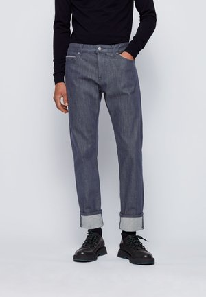 MAINE3+ - Straight leg jeans - dark blue