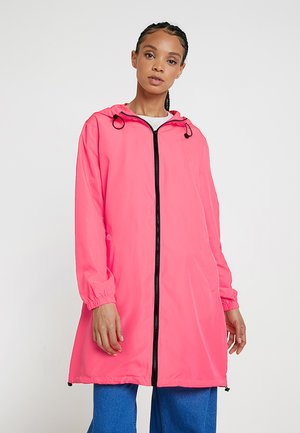 Abrigo - neon pink