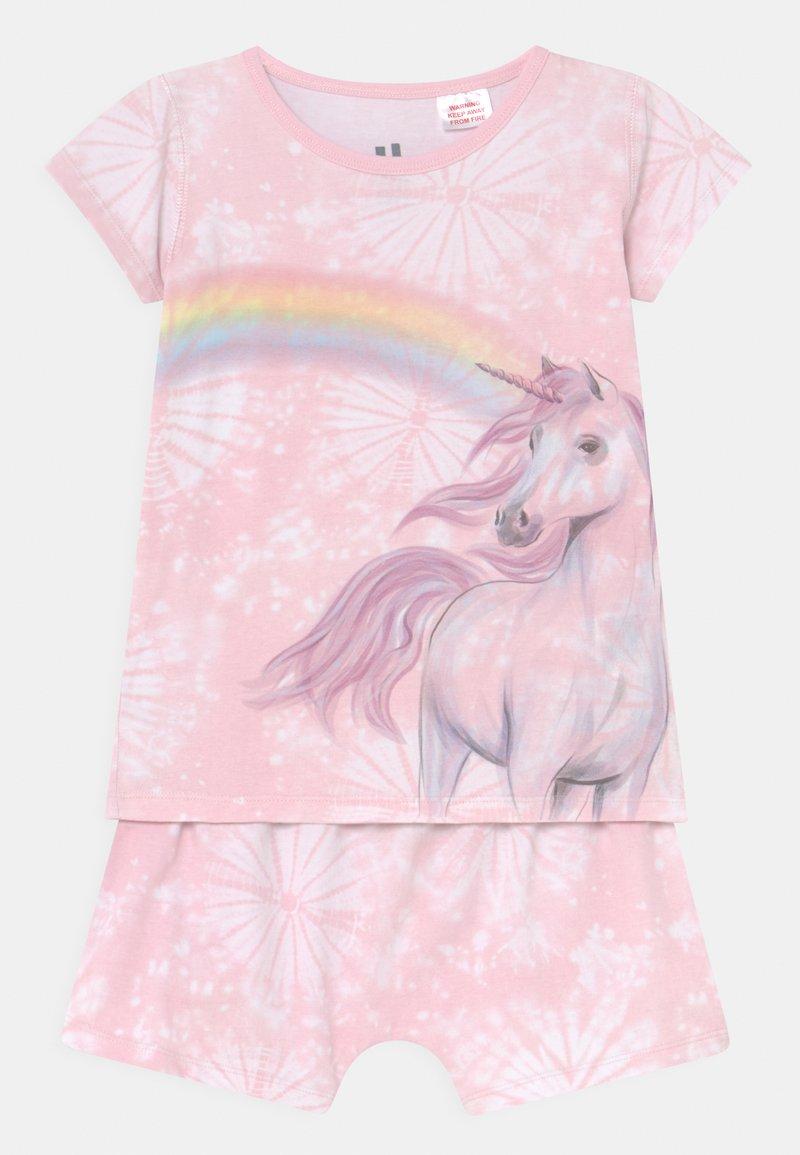 Cotton On - HARPA SHORT SLEEVE  - Pyžamová sada - crystal pink