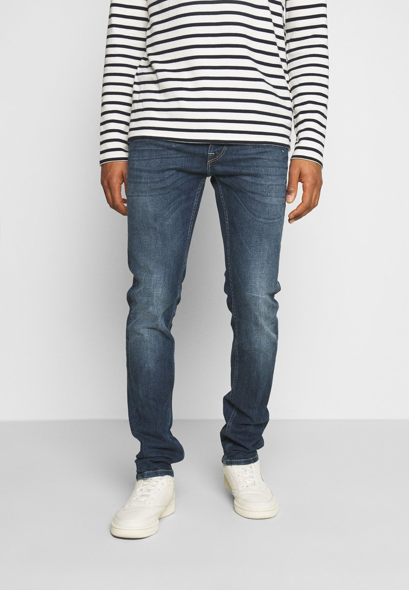 Replay - GROVER - Straight leg jeans - dark-blue denim