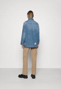 Noisy May - NMFIONA DEST JACKET  - Denim jacket - light blue denim - 2