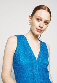 MICHAEL Michael Kors - MIDI DRESS - Cocktail dress / Party dress - bright cyan blue - 4