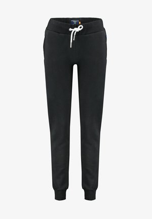 ORANGE LABEL  - Tracksuit bottoms - schwarz