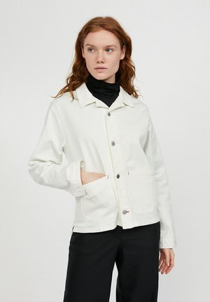 SKYLAAR - Denim jacket - off white