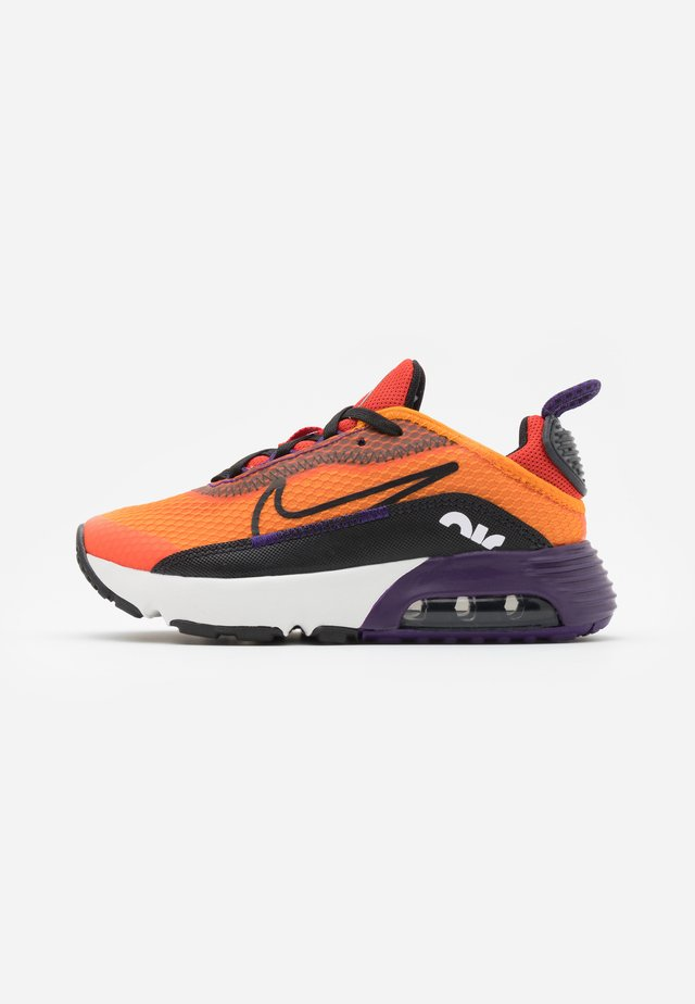 AIR MAX 2090 UNISEX - Sneakers basse - magma orange/black/eggplant/habanero red