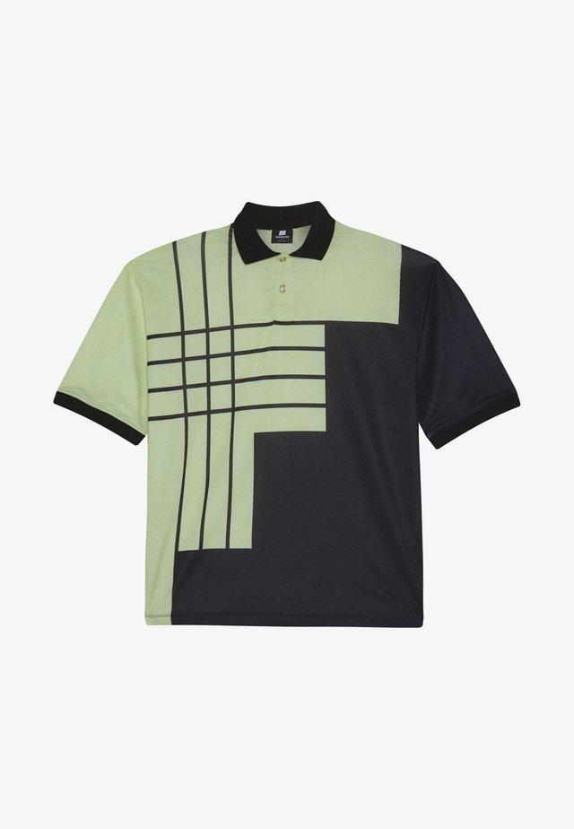 SWEET LOOSE GOLF  TEE - Koszulka polo - yellow/black
