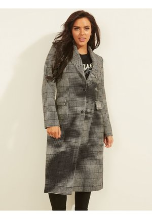 MANTEL WOLLMIX - Classic coat - mehrfarbig grau